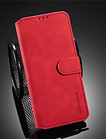 cheap -Case For Huawei Huawei P40/P40 Pro/P40 Lite/P30 /P30 Pro/P30 Lite/P20/P20 Pro/P20 Lite/Mate 30/Mate 30 Pro/V30 Card Holder / Shockproof / Flip Full Body Cases Solid Colored PU Leather / TPU