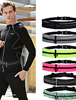 cheap -Running Belt Fanny Pack Belt Pouch / Belt Bag for Running Hiking Outdoor Exercise Traveling Sports Bag Adjustable Waterproof Portable Tactel Lycra® Men's Women's Running Bag Adults