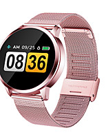 cheap -Q8 Unisex Smartwatch Smart Wristbands Android iOS Bluetooth Waterproof Heart Rate Monitor Sports Health Care Information Pedometer Call Reminder Activity Tracker Sleep Tracker Sedentary Reminder