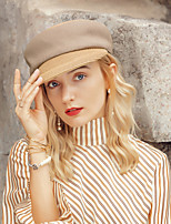 cheap -Headwear Casual Polyester Hats with Color Block 1pc Casual / Daily Wear Headpiece