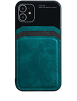 cheap -iPhone11Pro Max Lens Camera All-inclusive Mobile Phone Shell XS Max Leather Pattern Business Anti-drop Anti-fingerprint 6 7 8Plus SE 2020 Protective Case