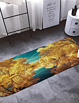 cheap -1pc Modern Bath Mats / Bath Rugs Coral Velve Geometric / Abstract 5mm Bathroom New Design