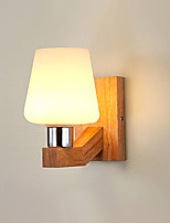 cheap -Country  Modern Wall Lamps & Sconces Living Room  Dining Room Wood  Bamboo Wall Light 110-120V  220-240V 12 W