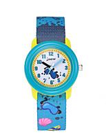 cheap -Kids Sport Watch Automatic self-winding Ocean Blue Water Resistant / Waterproof Analog Cartoon - Blue