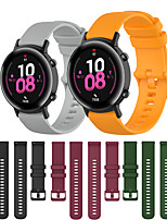 cheap -Sport Silicone Wrist Strap Watch Band for Huawei Watch GT 2 42mm / Honor Magic Watch 2 42mm / Watch 2 Replaceable Bracelet Wristband