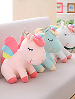 cheap -1 pcs Stuffed Animal Pillow Plush Doll Sofa Toys Plush Toys Plush Dolls Stuffed Animal Plush Toy Unicorn Cartoon Realistic Soothing PP Plush Imaginative Play, Stocking, Great Birthday Gifts Party