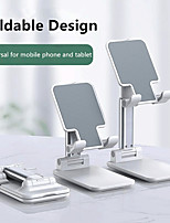 cheap -Portable Cell phone Holder Universal Adjustable Angle Lazy Desktop Holder for IPhone IPad Xiaomi Folding Mobile Phone Bracket