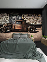 cheap -Custom Self-adhesive Mural Master Car Suitable for Background Wall Coffee Shop Hotel Wall Decoration Art