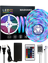 cheap -MASHANG Bright RGBW LED Strip Lights 32.8ft 10M RGBW Tiktok Lights 2340LEDs SMD 2835 with 24 Keys IR Remote Controller and 100-240V Adapter for Home Bedroom Kitchen TV Back Lights DIY Deco