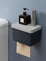 cheap -Toilet Ttissue Box From Drilling Toilet Paper Toilet Paper Roll Holder Creative Hand Shelf Carton Paper Color Random