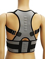 cheap -Adjustable Back Support Sport Back Corrector Lumbar Shoulder Protection Pain Relief