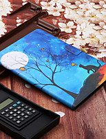 cheap -Case For Samsung Galaxy Samsung Tab A 10.1(2019)T510 / Samsung Tab A 8.0(2019)T290/295 / Samsung Tab S6 T860/865 with Stand / Flip / Pattern Full Body Cases Cat / Animal PU Leather