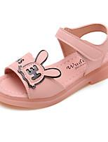 cheap -Girls' Comfort PU Sandals Little Kids(4-7ys) / Big Kids(7years +) White / Purple / Pink Summer