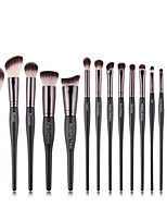 cheap -Professional Makeup Brushes 15pcs Soft Artificial Fibre Brush Wooden / Bamboo for Foundation Brush Eyeshadow Brush Makeup Brush Set