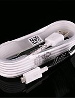 Недорогие -1pc быстрое зарядное устройство для передачи данных для Samsung Galaxy Note 4/5 S6 1,5 м