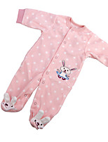 cheap -Reborn Baby Dolls Clothes Reborn Doll Accesories Cotton Fabric for 22-24 Inch Reborn Doll Not Include Reborn Doll Rabbit Soft Pure Handmade Girls' 1 pcs