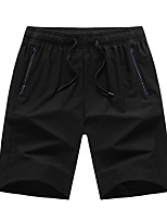 "cheap -Men's Hiking Shorts Summer Outdoor 10"" Loose Breathable Quick Dry Sweat-wicking Comfortable Cotton Shorts Bottoms Black Hunting Fishing Climbing XL XXL XXXL 4XL 5XL - DZRZVD® / Wear Resistance"
