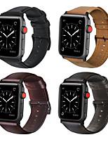 Недорогие -Ремешок для часов для Apple Watch Series 5 / Apple Watch Series 4/3/2/1 Apple Бизнес группа Натуральная кожа Повязка на запястье