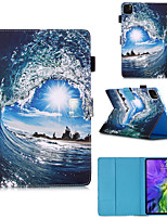 cheap -Case For Apple iPad Pro 11 inch 2020 iPad Mini 3/2/1 / iPad Mini 4 with Stand / Flip / Pattern Full Body Cases Scenery PU Leather for iPad5 iPad6 iPad 9.7 2018 2017