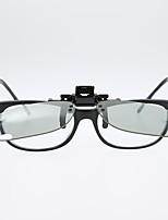 cheap -3D Glasses Clips Cinema Clip On type Passive Circular Square Polarized IMAX 3D IRealD Glasses Clip for 3D TV Movie/Cinema