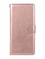 cheap -Case For Samsung Galaxy Galaxy S10 / Galaxy S10 Plus / Galaxy S10 E Wallet / Card Holder Full Body Cases Solid Colored PU Leather