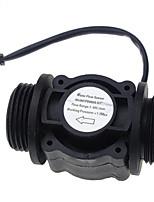 cheap -Water Flow Sensor Fuel Flow Meter Water Meter Sensor Flowmeter Water Sensor Counter Indicator FS400A G1 DN25 1-60L/Min