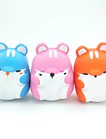 cheap -Squishy Squishies Squishy Toy Squeeze Toy / Sensory Toy Jumbo Squishies Hamster Stress and Anxiety Relief Slow Rising PU For Kid's Adults' Boys and Girls Gift Party Favor 3 pcs