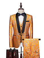 cheap -Tuxedos Standard Fit Shawl Collar Single Breasted One-button Polyester Floral Print