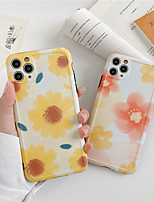 cheap -Flower Soft Phone Case For iPhone 7 Plus X XR XS Max 7 8 Plus se 2020 Back Cover For iPhone 11 Pro Max Funda