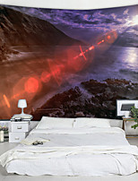 cheap -Yamato Onsen Digital Printed Tapestry Decor Wall Art Tablecloths Bedspread Picnic Blanket Beach Throw Tapestries Colorful Bedroom Hall Dorm Living Room Hanging