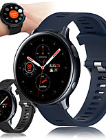 cheap -Sport Silicone Wrist Strap Watch Band for Samsung Galaxy Watch 42mm / Galaxy Watch Active 2 40mm 44mm / Active R500 / Gear S2 Classic / Gear Sport Replaceable Bracelet Wristband