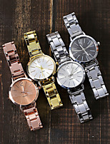 cheap -Women's Quartz Watches Fashion Silver Rose Gold Alloy Chinese Quartz Rose Gold Black Gold Adorable 1 pc Analog One Year Battery Life