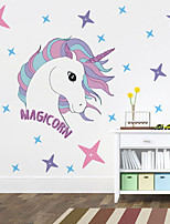cheap -Robot Unicorn Attack Animals Wall Stickers Plane Wall Stickers Decorative Wall Stickers PVC Home Decoration Wall Decal Wall / Window Decoration 1pc