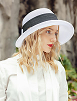 cheap -Headwear Fashion Polyester Hats with Bowknot 1pc Casual / Daily Wear Headpiece