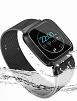 cheap -LITBest L18 Men Women Smartwatch Android iOS Bluetooth Waterproof Touch Screen Heart Rate Monitor Blood Pressure Measurement Sports Stopwatch Pedometer Call Reminder Activity Tracker Sleep Tracker