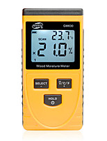 cheap -Digital Induction Wood Moisture Meter Temperature Humidity Tester Induction Moisture Tester LCD Display Hygrometer GM630