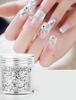 cheap -1 pcs Color Gradient / Light and Convenient Glitter Glitter Powder Sequins For Finger Nail Creative nail art Manicure Pedicure Party / Evening / Festival Trendy / Cute