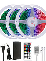 cheap -MASHANG 15M(3*5M) LED Strip Lights RGB Tiktok Lights 900LEDs Flexible Color Change SMD 5050 with 44 Keys IR Remote Controller and 100-240V Adapter for Home Bedroom Kitchen TV Back Lights DIY Deco