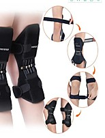 cheap -1 Pair Powerful Rebound Spring Force Knee Pad Knee Support Patellar Joints Booster Pain Relief Sports Training Protector