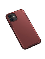 cheap -Case For Apple iPhone 7/8/7P/8P/X/XS/XR/XS Max/11/11 Pro/11 Pro Max/SE 2020 Shockproof / Frosted Back Cover Solid Colored TPU / Plastic