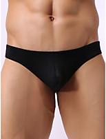cheap -Men's Basic G-string Underwear - Normal Low Waist Light Blue White Black M L XL