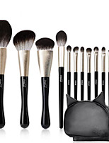 cheap -Professional Makeup Brushes 12pcs Professional Full Coverage Comfy Artificial Fibre Brush Wooden / Bamboo for Blush Brush Foundation Brush Makeup Brush Eyeshadow Brush