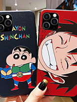 cheap -Cartoon One Piece and Crayon Shin Chan Shockproof TPU Phone Case For Apple iPhone 11 iPhone 11 Pro iPhone 11 Pro Max