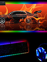 cheap -Cool Car Rgb Luminous Mouse Pad  e-Commerce Magic Horse Customized Mouse Pad 250 * 350 * 4mm