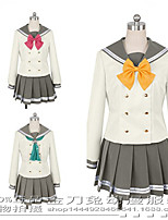 cheap -Inspired by Love Live Anime Cosplay Costumes Japanese Cosplay Suits Top Skirt Bow Tie For Women's
