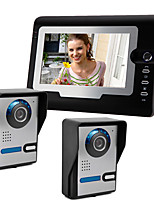 cheap -Wired 7 Inch Hands-free 800*480 Pixel Two To One Video Doorphone
