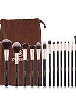 cheap -Professional Makeup Brushes 16pcs Soft Adorable Artificial Fibre Brush Wooden / Bamboo for Foundation Brush Eyeshadow Brush Makeup Brush Set