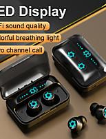 cheap -S15 TWS Bluetooth Earbuds In-Ear IPX5 Waterproof Mini Headset 3D Stereo Sound Sport Earphone