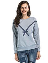 cheap -Women's Sweatshirt Solid Colored Sports & Outdoors / Basic White Blushing Pink Gray M L XL XXL
