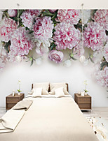 cheap -Art Deco  Custom Self-adhesive Mural Rose is Suitable for Background Wall Coffee Shop Hotel Wall Decoration Art